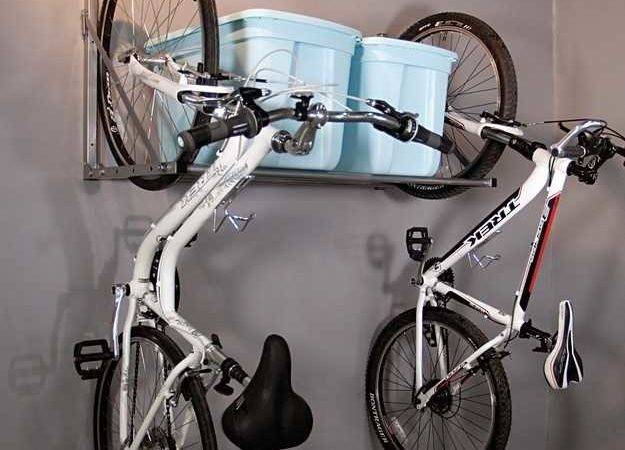 Creative Wall Mounted Bike Racks