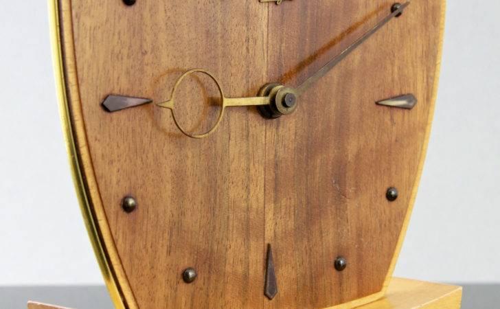 Creative Wood Desk Clock Designs Home Design Furniture