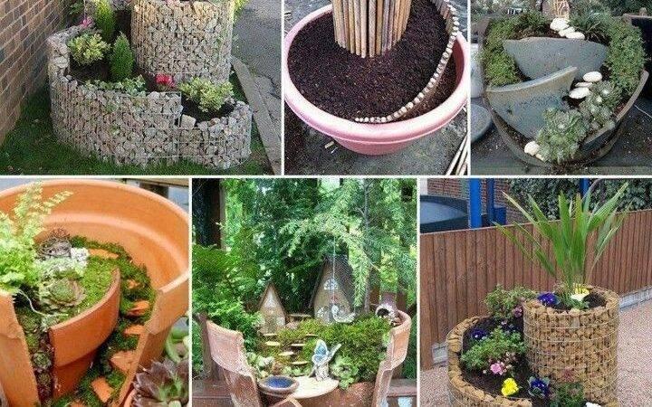 Creative Yard Art Planters Ideas Pinterest