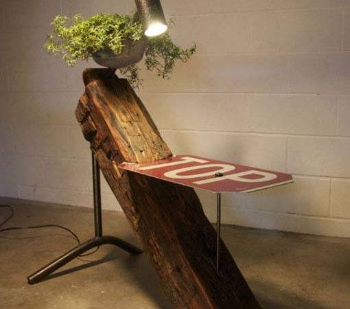Creativity Using Recycled Wood Recycling Not Say