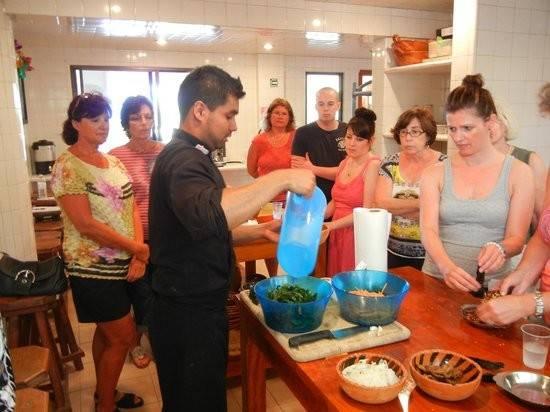 Cristobal Foto Little Mexican Cooking School Puerto Morelos