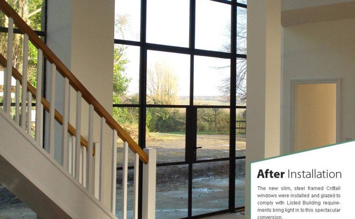 Crittall Arched Windows
