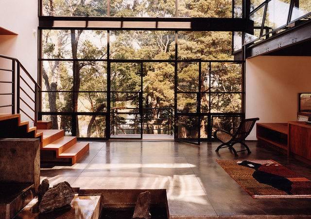 Crittall Windows Modern Living Room Other Steel