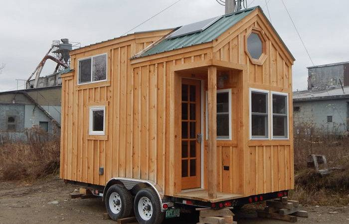 Cross Gable Tiny House Trailer