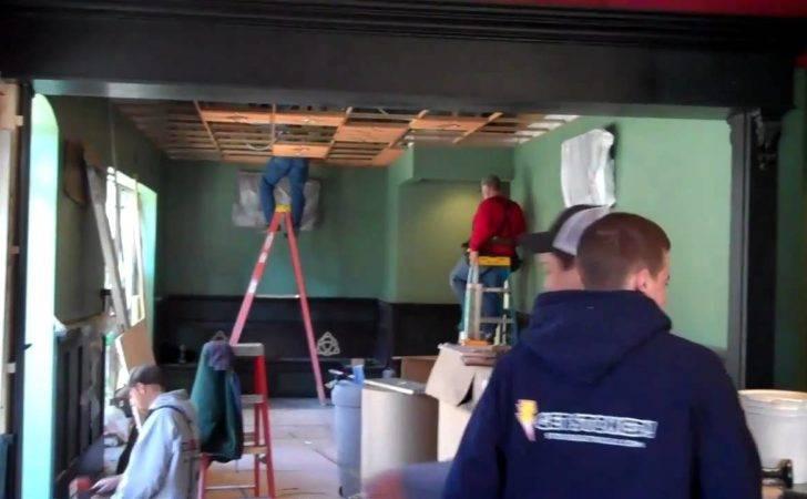 Crosse Bar Restaurant Commercial Build Out Remodel Youtube
