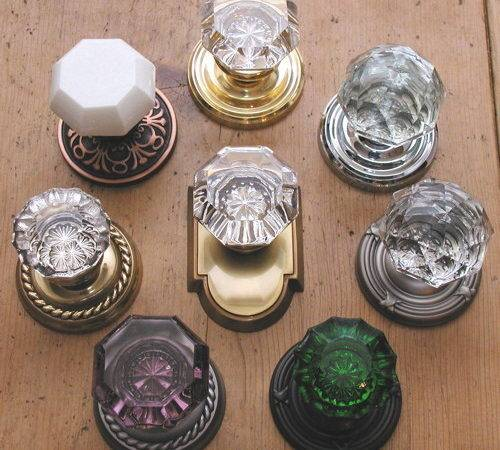 Crystal Door Knobs Vintage Sample Plans Pdf Woodworking Apprentice