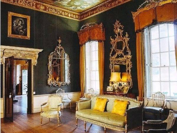 Curtain Design Living Room Modern Georgian Style