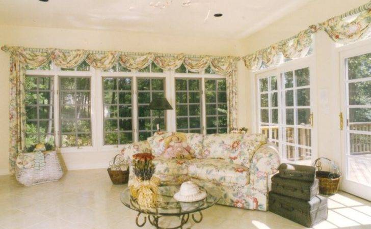 Curtains Hideous But Really Like Design Sunroom