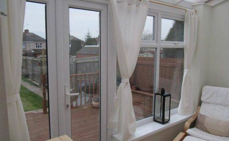 Curtains Our Conservatory Pinterest