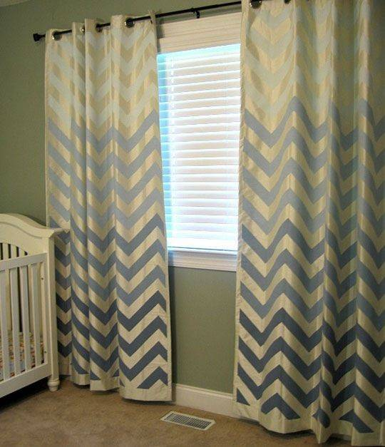 Curtains Shower Love Olivia Abo Nancy Dell Olio Stripes Boy