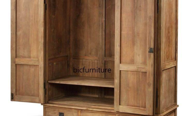 Cusomise Teak Wood Wardrobes Doors