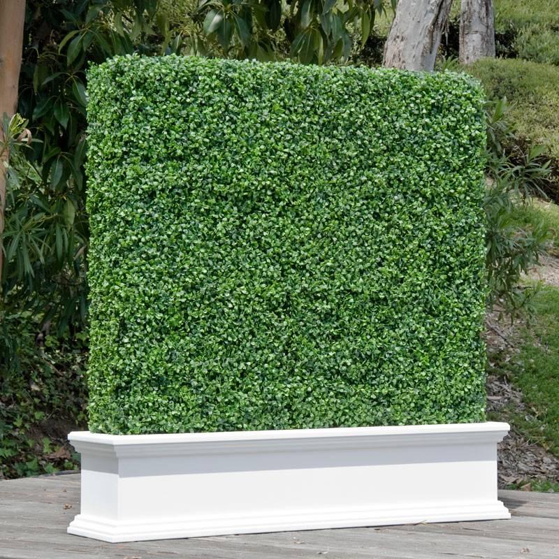 Custom Artificial Hedges Planters