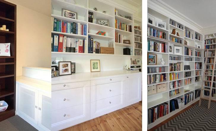 Custom Cabinets Melbourne Luxury Makers Bookshelves