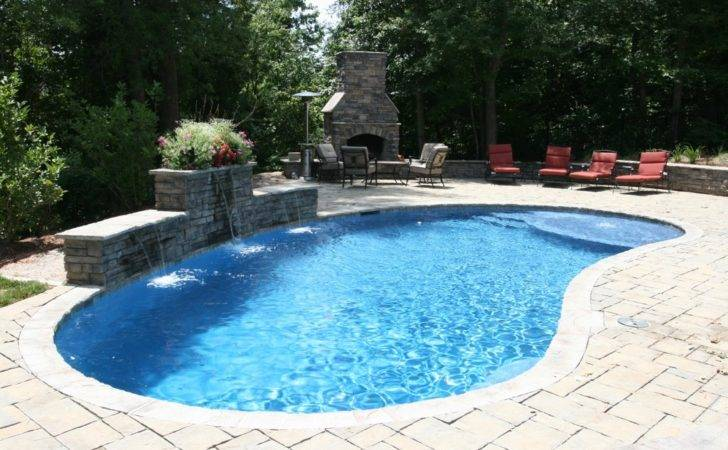 Custom Concrete Pools Designed Raleigh Cary