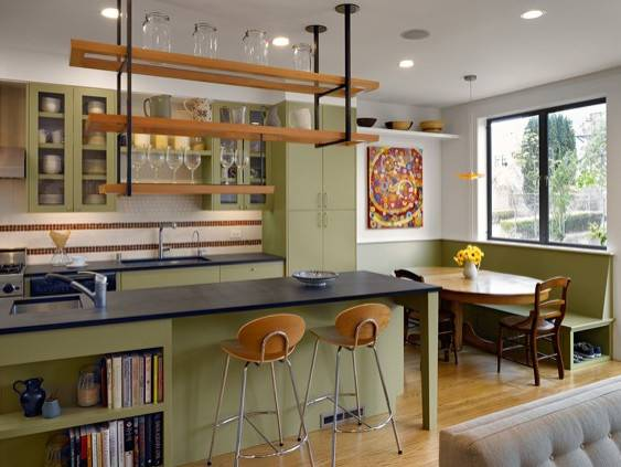Custom Corner Cabinetry Systems Offer Larger More Practical Hidden