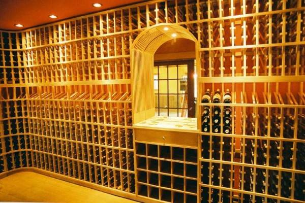 Custom Designed Wine Cellars Patrick Wallen