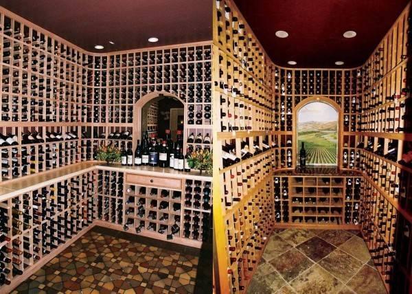 Custom Designed Wine Cellars Patrick Wallen