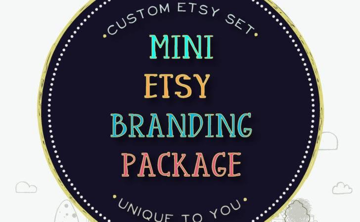 Custom Etsy Shop Banner Set Business Jupiterstreetdesigns