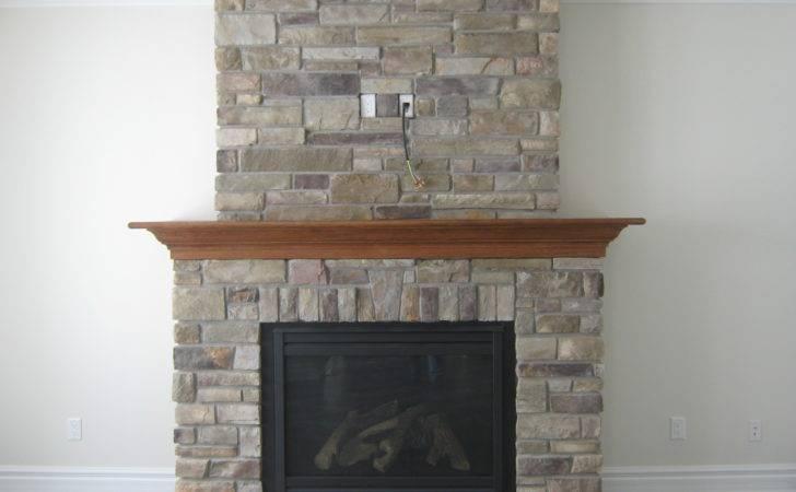 Custom Fireplace Country Ledge Stone Rick Minnings