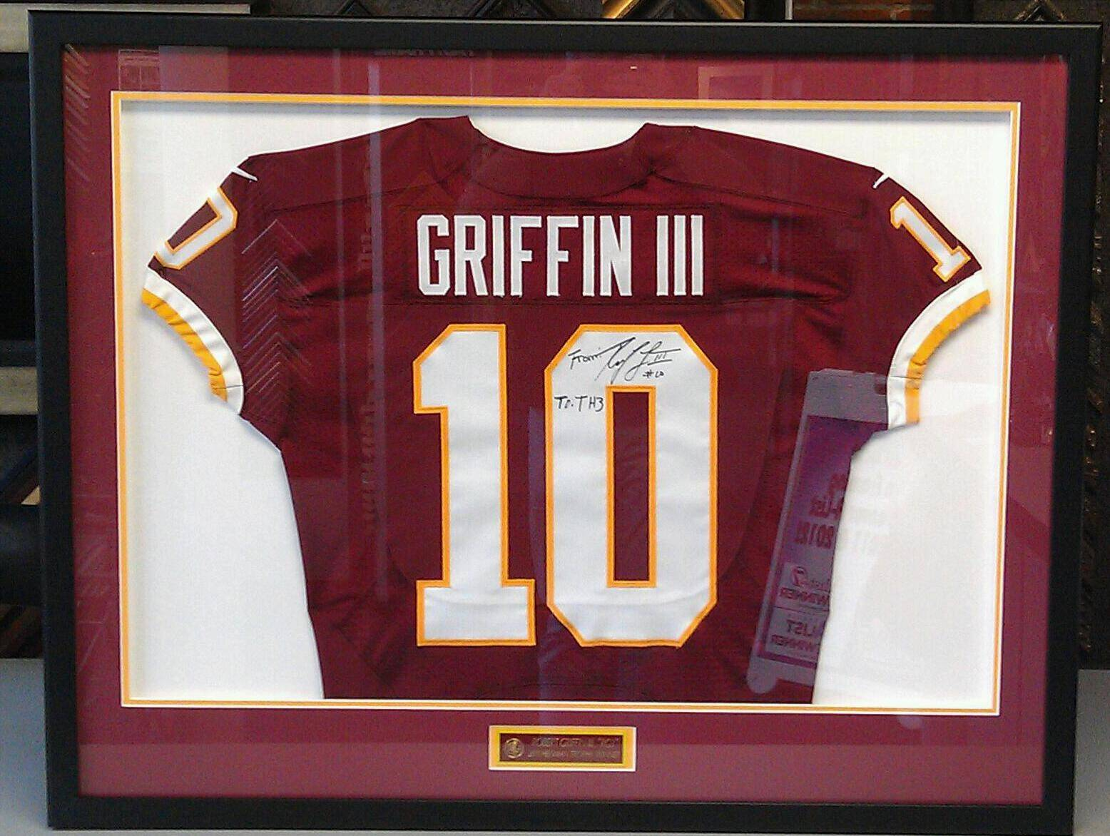 Custom Framed Jersey Jerseys Make Great Holiday Gifts