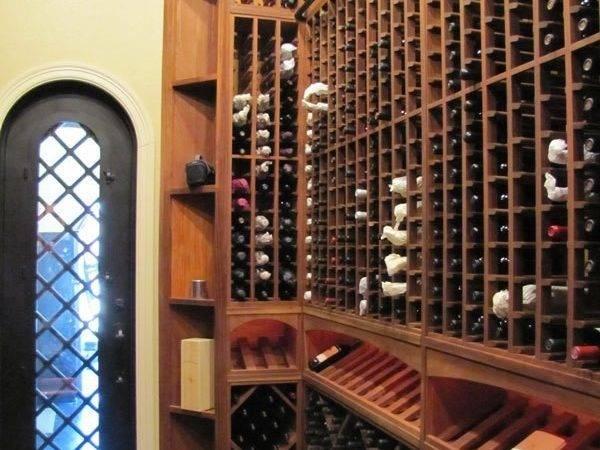 Custom Hand Built Wine Cellars Austin Grandeur