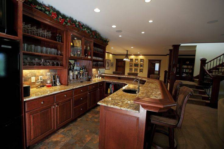 Custom Home Bars Lecy Brothers Homes