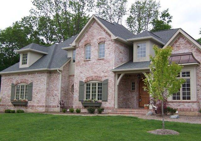 Custom Home Front Elevations Traditional Exterior