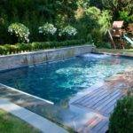 Custom Inground Swimming Pools Landscape Design Pool