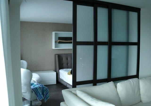 Custom Interior Glass Room Dividers Bedroom