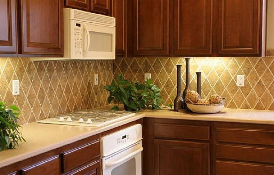 Custom Kitchen Backsplash Design Tiles