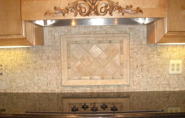 Custom Kitchen Backsplash Macomb County Tile Contractor Oakland