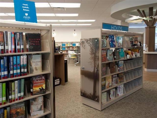 Custom Library Shelving Showcases History Spacesaver