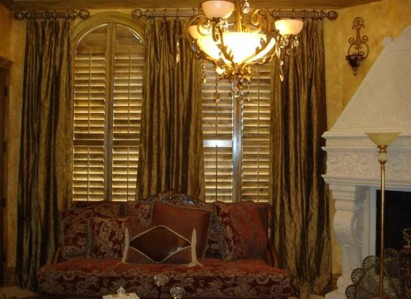 Custom Living Drapery Window Treatment Ideas Formal Room