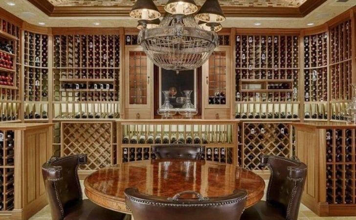 Custom Luxury Wine Cellar Designs Some Tasting Rooms