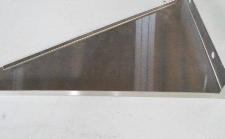 Custom Made Stainless Steel Kitchen Wall Rack Shelf Mount Bracket