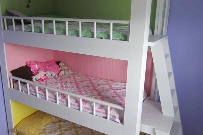 Custom Made Triple Bunk Beds