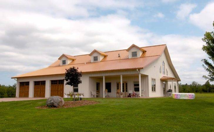 Custom Metal Building Home Porch Plans