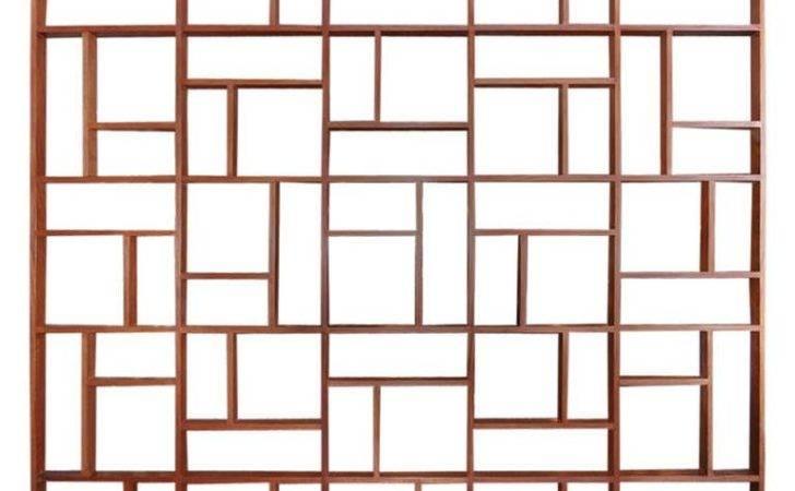 Custom Midcentury Geometric Room Divider Sale Stdibs