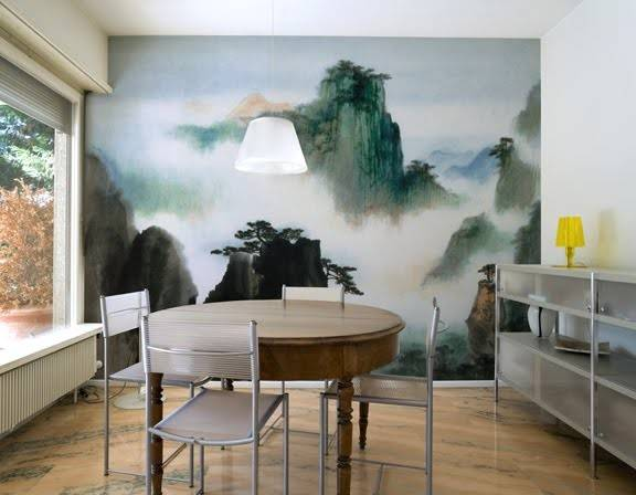 Custom Murals Home Office Eco Friendly Paper Ink
