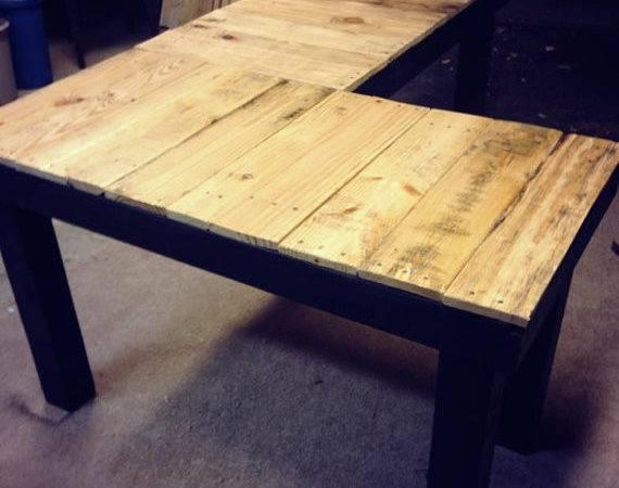 Custom Reclaimed Wood Shaped Desk Ovcustomwoodworking