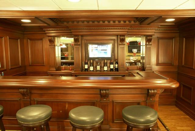Custom Residential Bar Traditional Home Newark