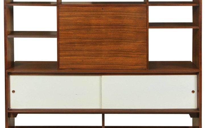 Custom Room Divider Desk Milo Baughman Drexel Stdibs