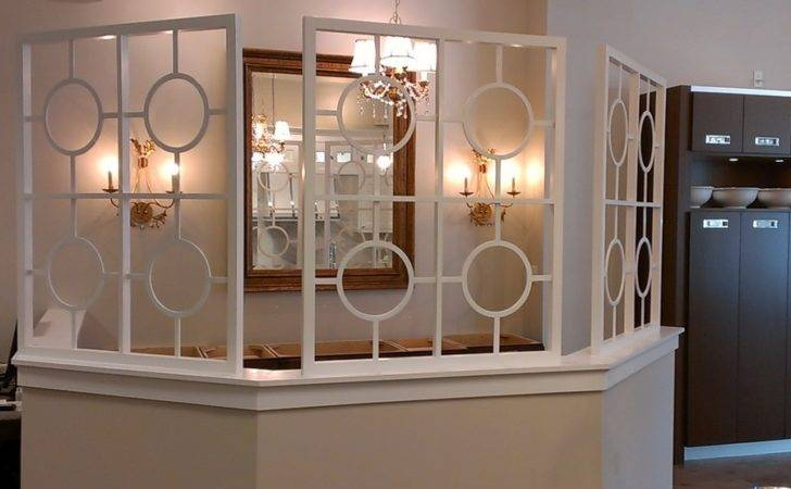 Custom Room Dividers Spaces Traditional Circles Contemporary