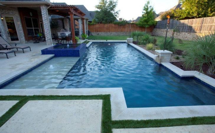 Custom Square Pool Soigne