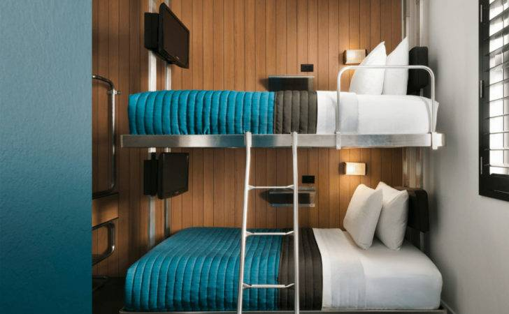 Custom Stainless Steel Bunk Beds Pod Hotel Nyc