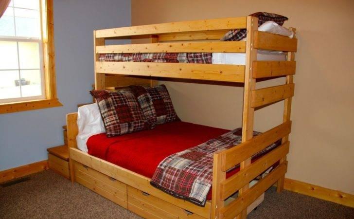Custom Twin Bunk Bed Frame Boulder Valley Llc