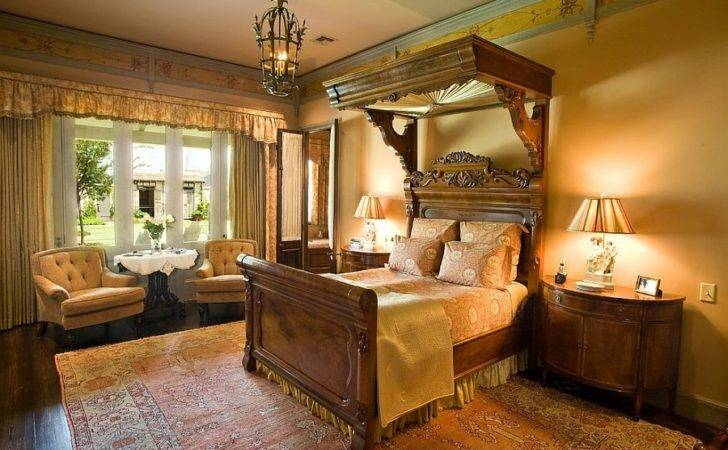 Custom Victorian Canopy Design Bedroom Anderson