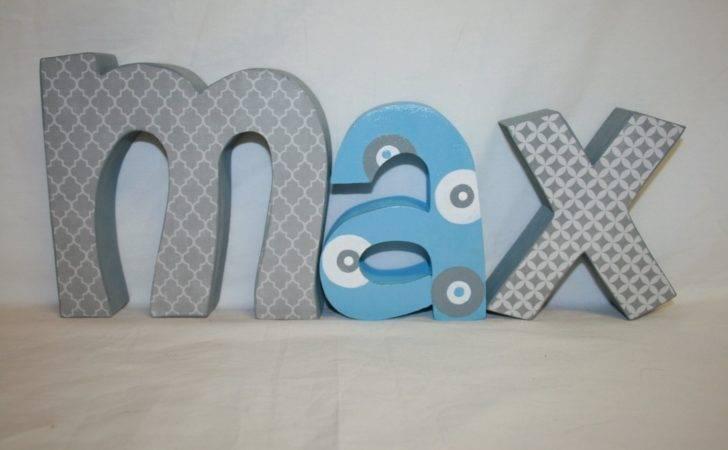 Custom Wood Letters Letter Set Nursery Decor Wooden Resume Cover
