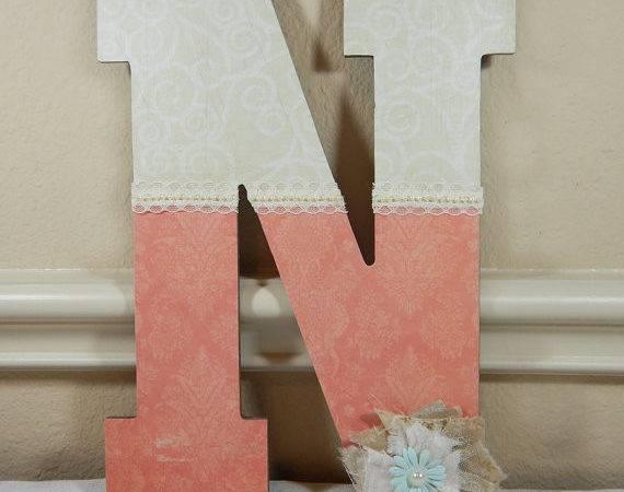 Custom Wood Letters Nursery Lettering