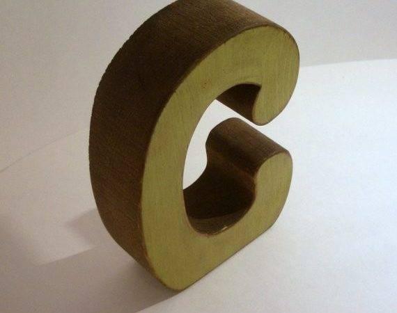 Custom Wood Letters Set